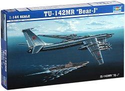 "Съветски самолет - TU-152MR ""Bear-J"" - Сглобяем авиомодел -"