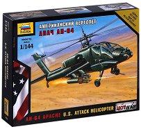 Американски военен хеликоптер - AH-64 Apache - Сглобяем модел - продукт