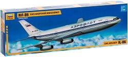 Пътнически самолет - ИЛ - 86 - Сглобяем авиомодел - макет