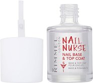 Nail Nurse - Nail Base and Top Coat - Мултифункционална основа и топ лак - лак