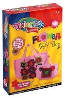 Декорирай сама - Чанта с цветя - Творчески комплект - играчка