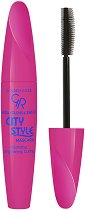Golden Rose Mega Volume & Length City Style Mascara - Спирала за обемни и дълги мигли - тоник