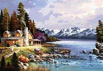 Хижа в планината - Джеймс Лий (James Lee) - пъзел
