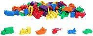 Научи се да броиш - Превозни средства - Комплект от 72 броя - играчка