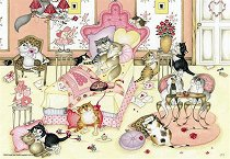 Влюбените котки - Линда Джейн Смит (Linda Jane Smith) - пъзел