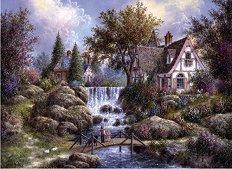 Ангелски водопад - Денис Леван (Dennis Lewan) - пъзел