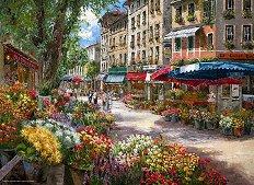 Магазин за цветя в Париж - Сам Парк (Sam Park) - пъзел