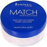 Rimmel Match Perfection Face Powder - Матираща прозрачна пудра за лице - продукт
