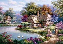 Къщата с лебедите - Сунг Ким (Sung Kim) - пъзел