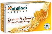 Himalaya Cream & Honey Nourishing Soap - Крем-сапун с мед -
