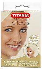 Titania Effects Eye Contour Patches Hydrogel - Комплект от 6 x 2 броя пластири за околоочен контур - продукт