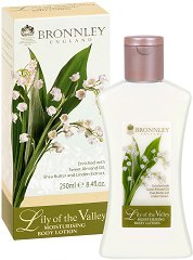 "Bronnley Lily of the Valley Moisturising Body Lotion - Овлажняващ лосион за тяло от серията ""Lily of the Valley"" -"