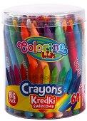 Восъчни пастели - Big Pack - Комплект от 64 цвята
