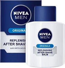"""Nivea Men Original Replenishing After Shave Balm - Балсам за след бръснене от серията """"Original"""" - продукт"""