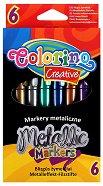 Металикови маркери - Комплект от 6 цвята