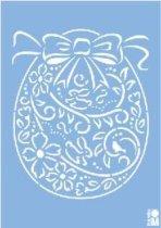 Шаблон - Орнамент яйце