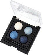 Golden Rose Wet & Dry Eyeshadow - Палитра сенки за очи за нанасяне със сух и мокър апликатор -