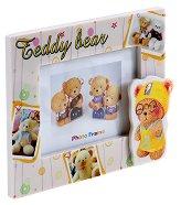 Детска рамка за снимка - Teddy bear - играчка