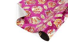 Опаковъчен лист за детски подаръци - Winx - Фолио с размери 40 x 150 cm