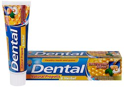 Natural Propolis & Herbal - Паста за зъби с прополис и билкови екстракти -