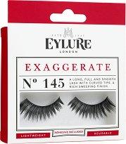 Eylure Exaggerate 145 - Мигли от естествен косъм в комплект с лепило - продукт