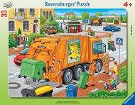 Камион за смет - пъзел