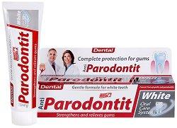 Anti-Parodontit White - Избелваща паста за зъби срещу пародонтит - продукт