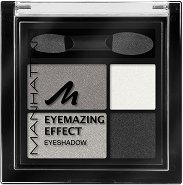 Manhattan Eyemazing Effect Eyeshadow Quattro - Четирицветни сенки за очи за опушен грим -