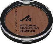 Manhattan Natural Bronzing Powder - Бронзираща пудра за лице и тяло - продукт