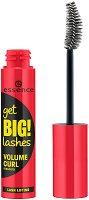 Essence Get BIG! Lashes Volume Curl Mascara - Спирала за обемни и извити мигли - продукт