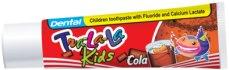 Tra-La-La Kids - Cola - Детска паста за зъби с аромат на кола - душ гел