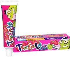 Dental Tra-La-La Kids Wild Strawberry -