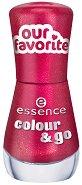 Essence Colour & Go - Лак за нокти - душ гел