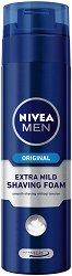 Nivea Men Original Extra Mild Shaving Foam - душ гел