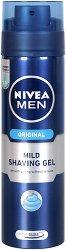 Nivea Men Original Mild Shaving Gel - душ гел