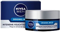 """Nivea Men Original - Mild Intensive Moisturising Cream - Интензивно овлажняващ крем за лице за суха кожа от серията """"Original"""" -"""