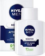 """Nivea Men Sensitive After Shave Balm - Балсам за след бръснене за чувствителна кожа от серията """"Sensitive"""" - маска"""