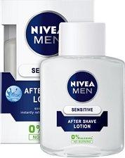 """Nivea Men Sensitive After Shave Lotion - Лосион за след бръснене за чувствителна кожа от серията """"Sensitive"""" - сапун"""