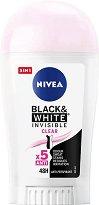 """Nivea Invisible For Black & White Clear Anti-Perspirant Stick - Дамски стик дезодорант против изпотяване от серията """"Invisible For Black & White"""" -"""
