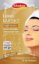 Маска за лице за всеки тип кожа - Лукс - Обогатена със злато, хайвер, шампанско и перли -