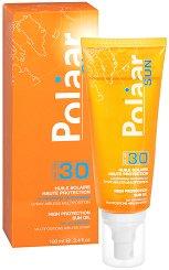 "Polaar Sun High Protection Spray Oil - SPF 30 - Слънцезащитно олио за коса, лице и тяло от серията ""Sun"" -"