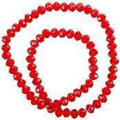 Мъниста за декориране - червени