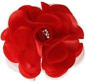 Декоративен елемент - Червено цвете