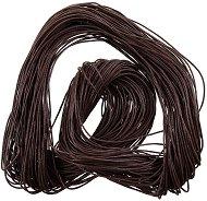 Памучен колосан шнур - кафяв