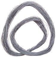 Синтетичен шнур - светло сив - Дължина 90 m