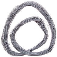 Синтетичен шнур - светло сив