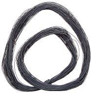 Синтетичен шнур - тъмно сив