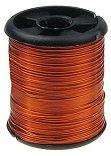 Декоративна медна тел - оранжева - Размер ∅ 0.3 mm x 9.5 m