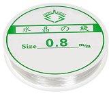 Еластичен силиконов шнур - Размери ∅ 0.8 mm x 10 m