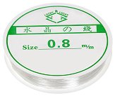 Еластична силиконова корда - Размери ∅ 0.8 mm x 7 m